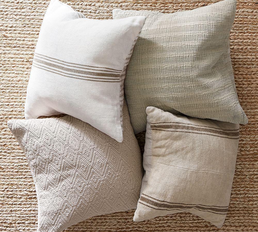 Washed Diamond Cushion Cover