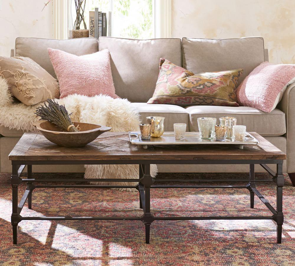 Parquet Coffee Table Pottery Barn Au