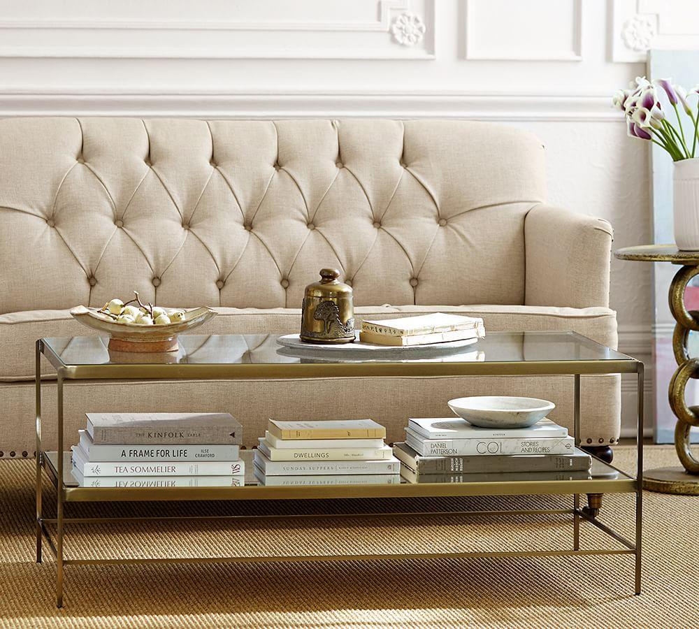Leona Coffee Table Pottery Barn Au