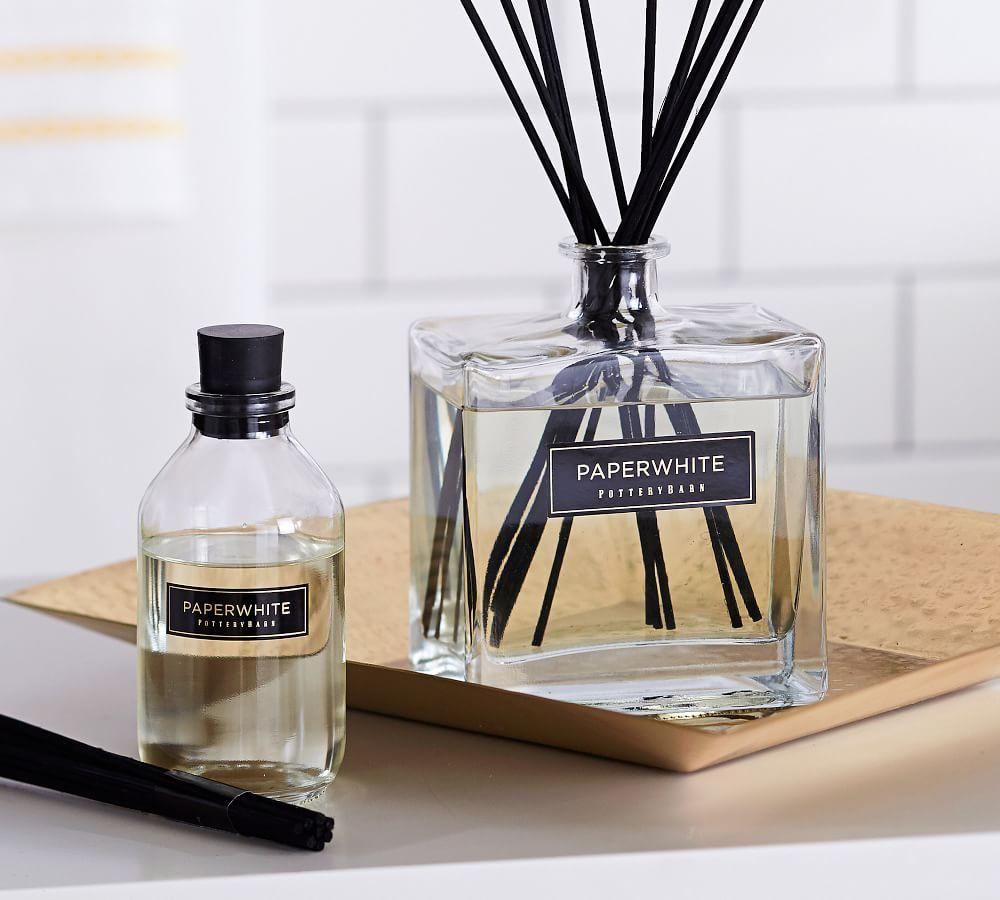 Homescent Square Oil Diffuser - Paperwhite