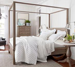 Layered & Fresh Bedroom