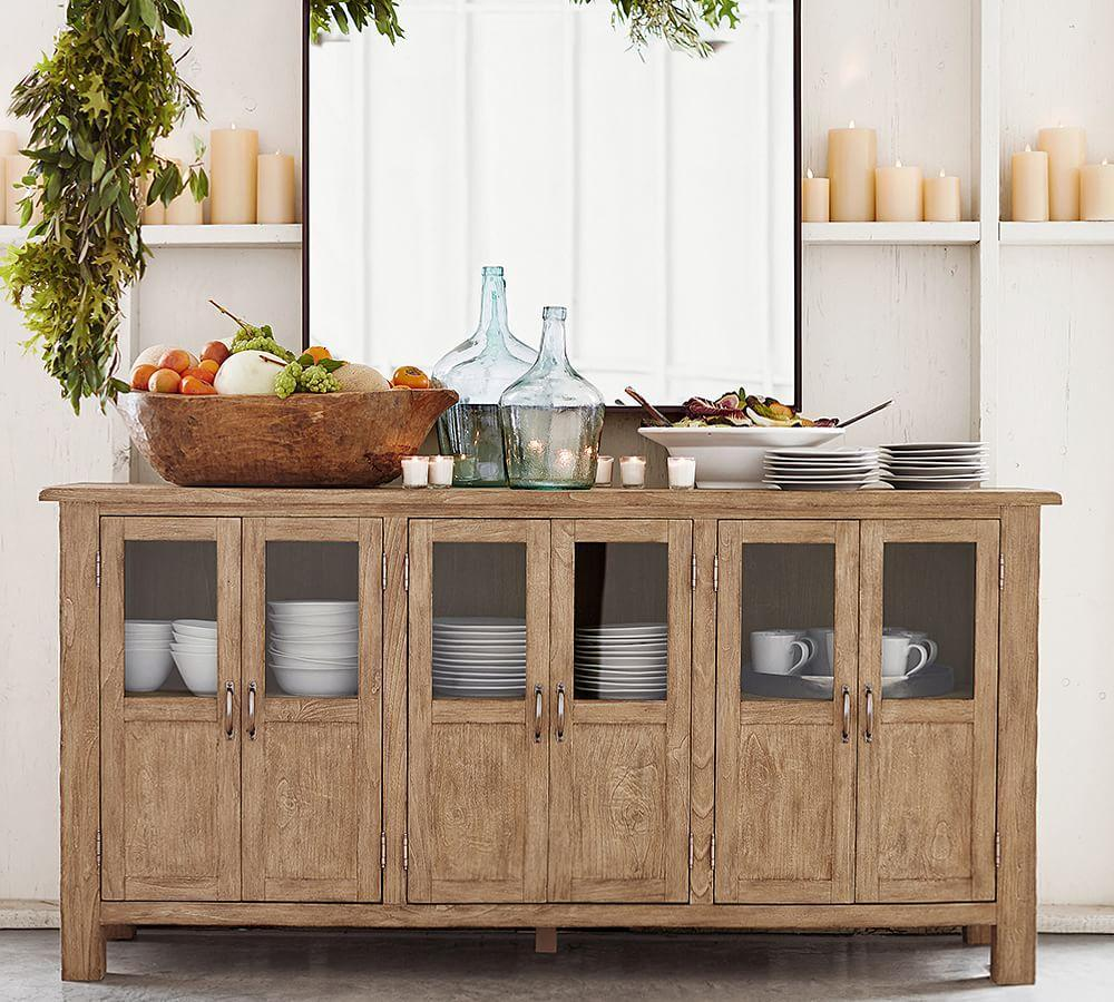 barn toscana buffet sideboard media cabinet pottery barns seadrift au