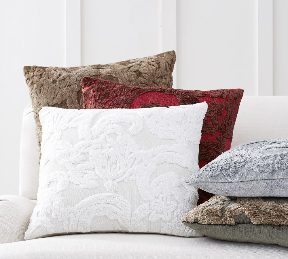 natalia silk jacquard cushion cover pottery barn au. Black Bedroom Furniture Sets. Home Design Ideas