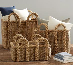 Baskets Decorative Storage Baskets Pottery Barn Australia