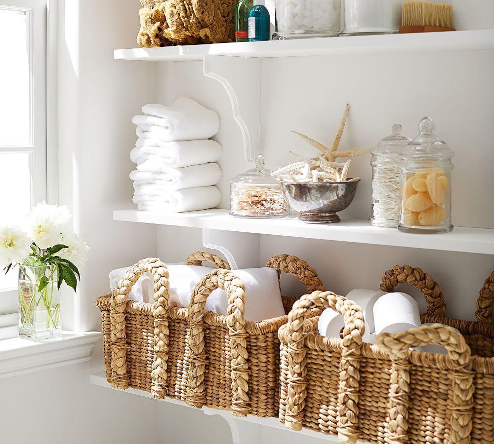 Beachcomber Rectangular Handled Baskets