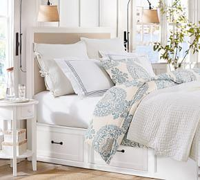 Pick-Stitch Coverlet & Pillowcase