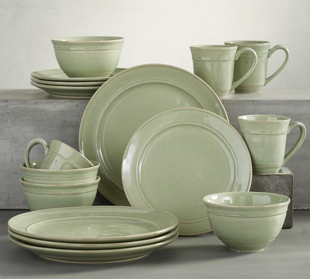 Cambria Dinnerware Celadon Pottery Barn Au