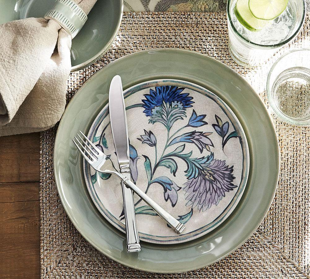 Cambria Dinner Plate - Celadon