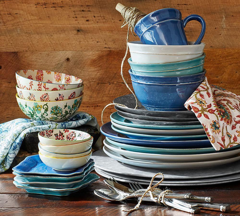 Cambria Dinnerware - Turquoise Blue
