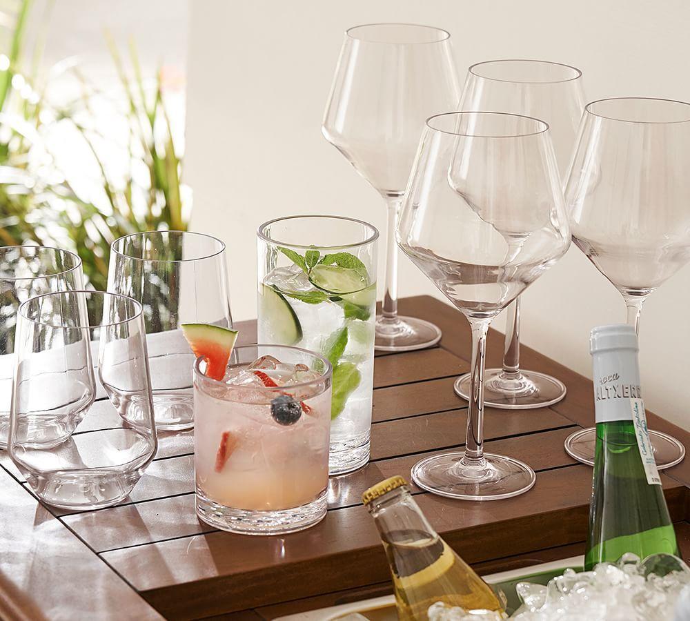 Happy Hour Tritan Drinking Glasses