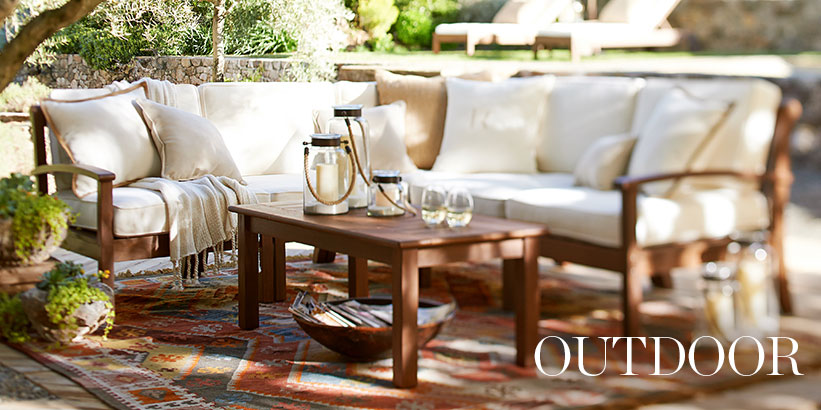 Outdoor Furniture Patio Furniture Outdoor Decor Pottery Barn
