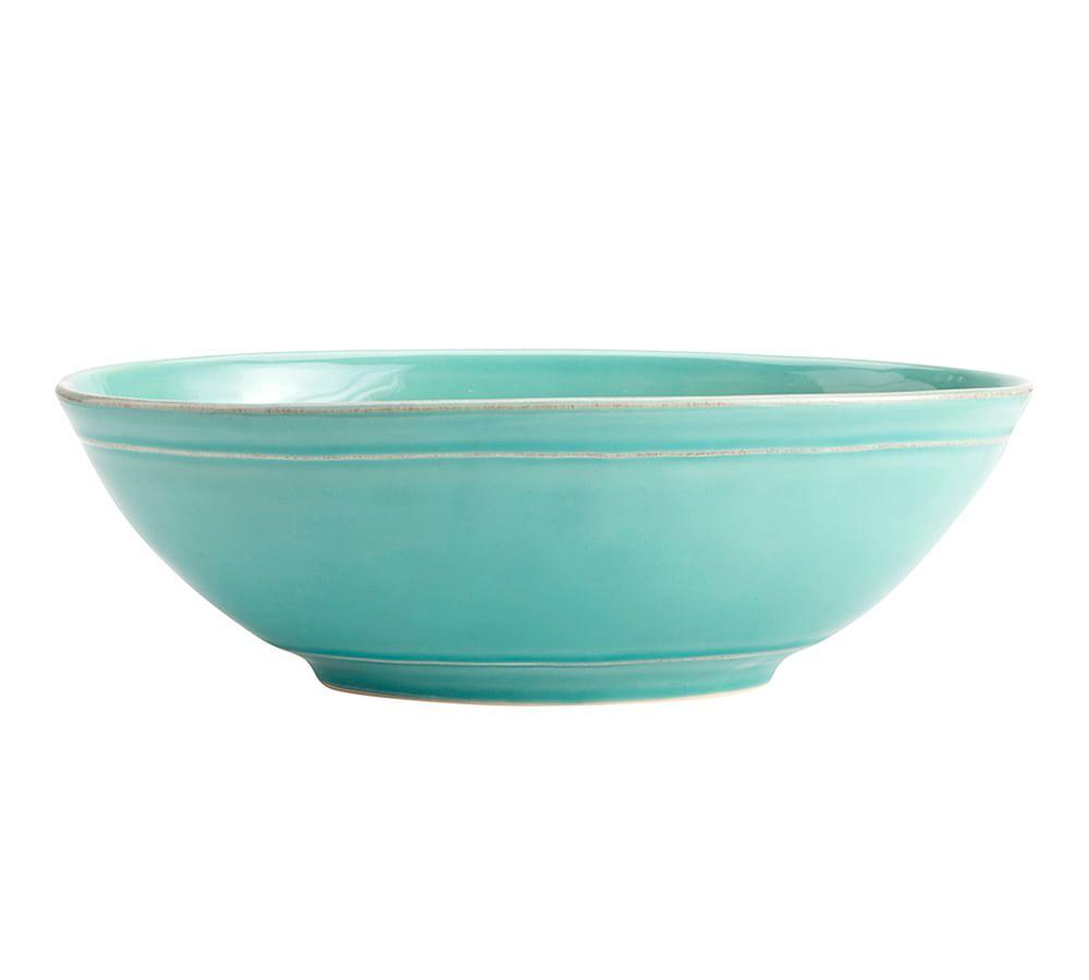 Cambria Oval Serve Bowl - Turquoise