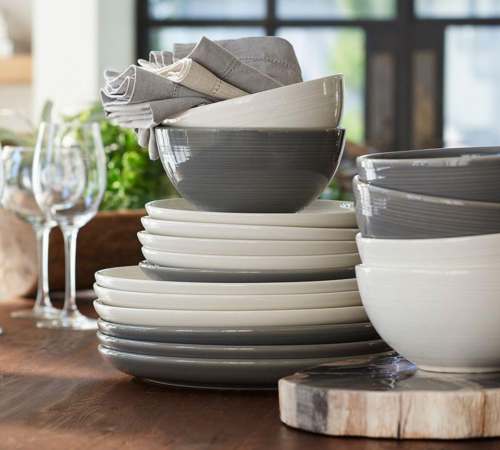 Joshua Dinner Plate - Grey