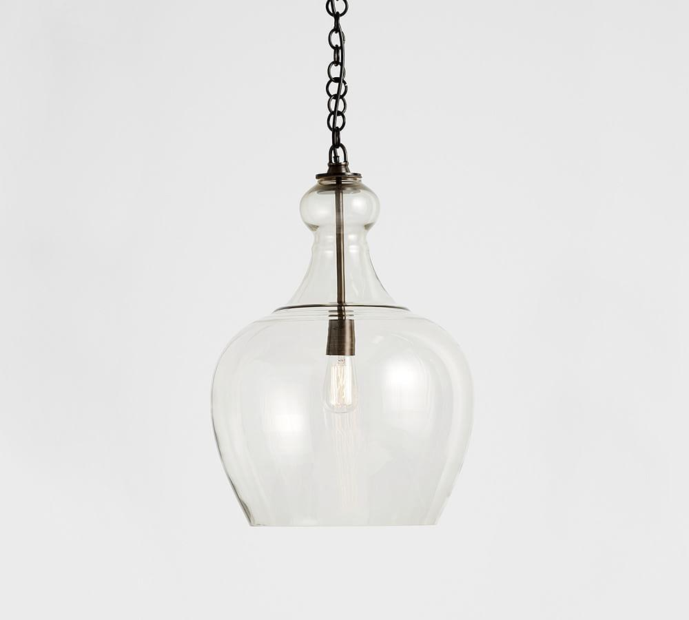 products shades of glass pendant teardrop light black