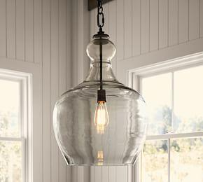 Pendant lights chandeliers lamp shade linen lamp shades flynn recycled glass pendant mozeypictures Image collections
