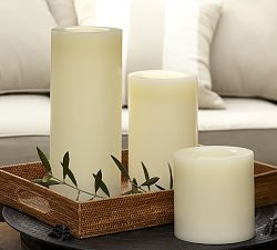 Flameless Wax Grand Candle