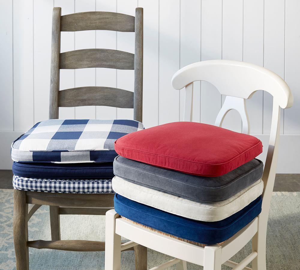pb classic dining chair cushion pottery barn au. Black Bedroom Furniture Sets. Home Design Ideas