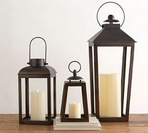 Smith Eclectic Lantern - Bronze