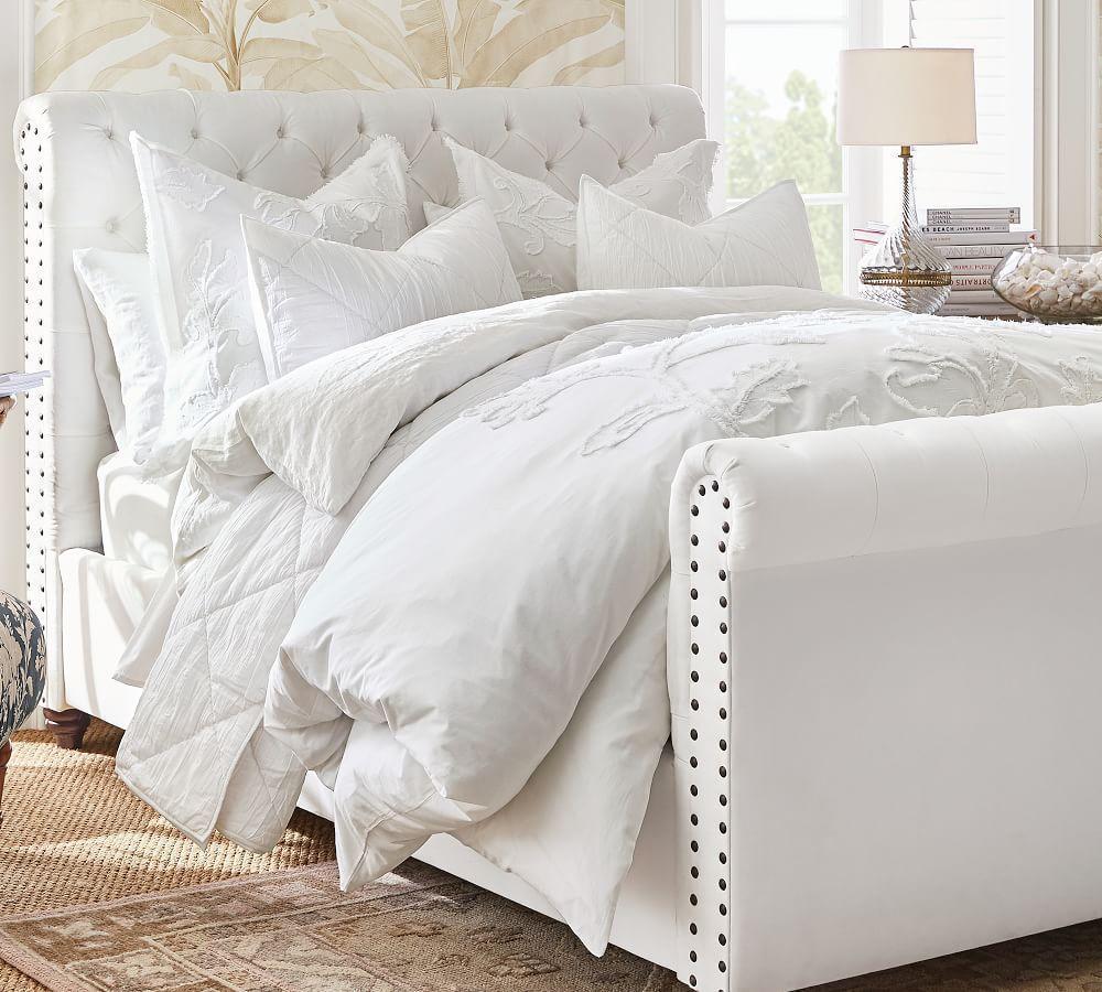 Voile Diamond Quilt Amp Pillowcase White Pottery Barn Au