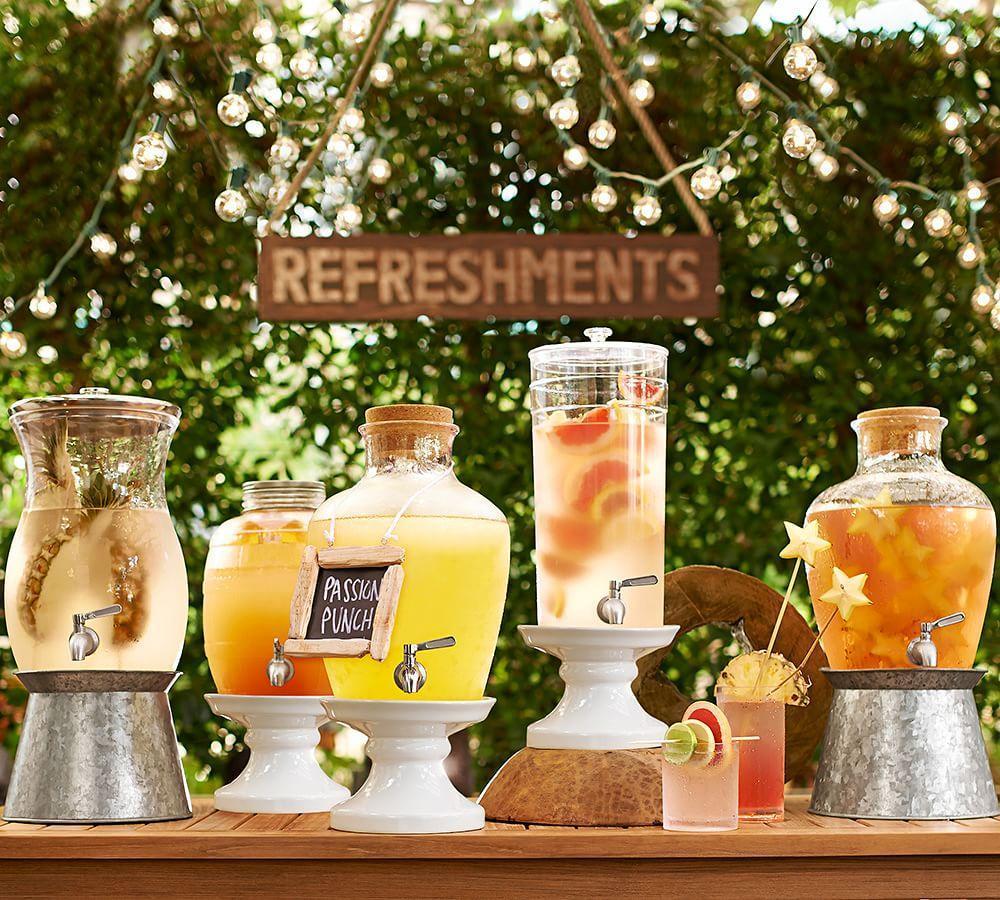 Rhodes Drink Dispenser Stand