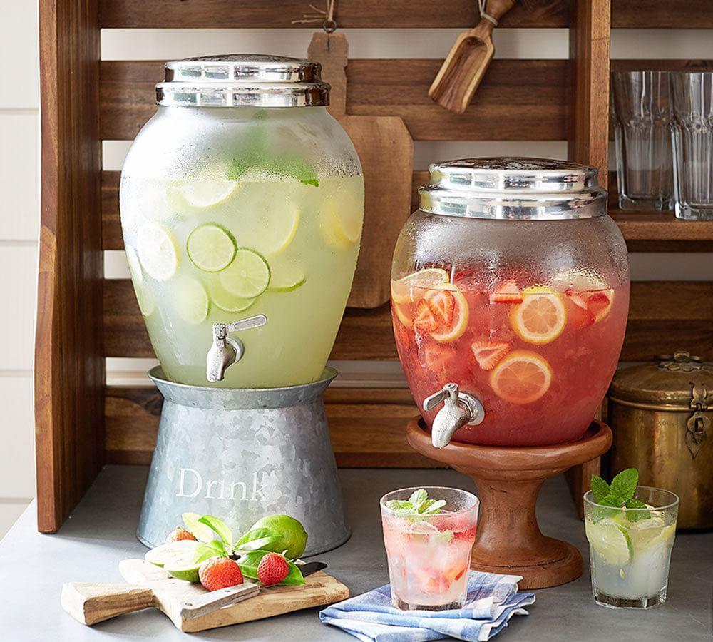 Glass Drink Dispenser | Pottery Barn