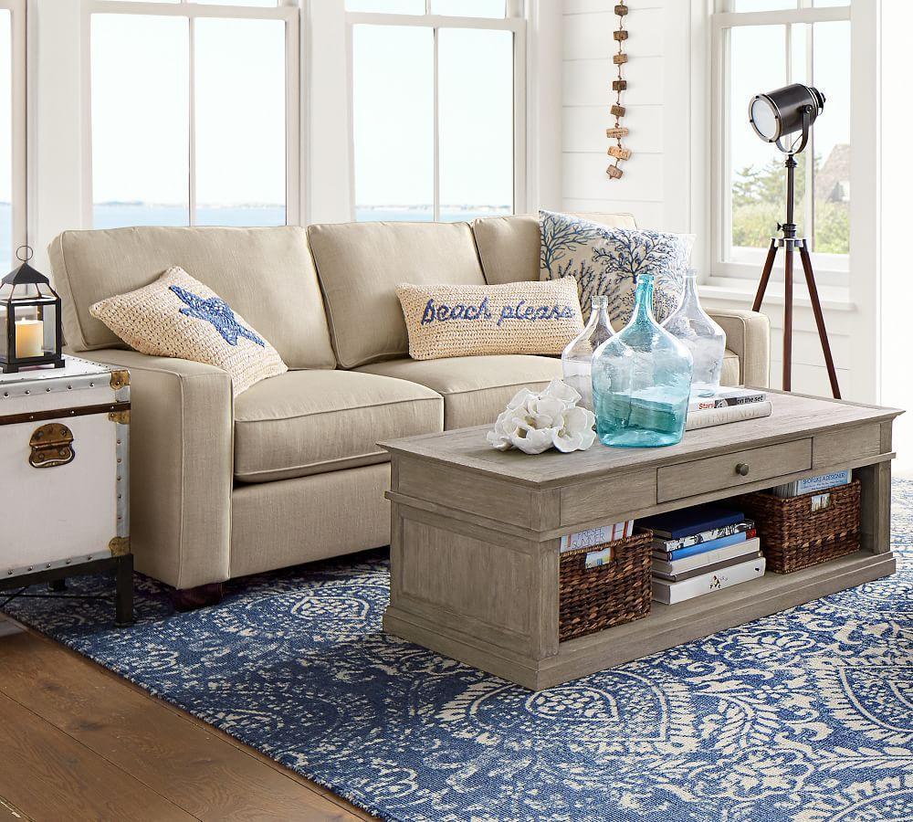 Beach Please Lumbar Cushion Cover