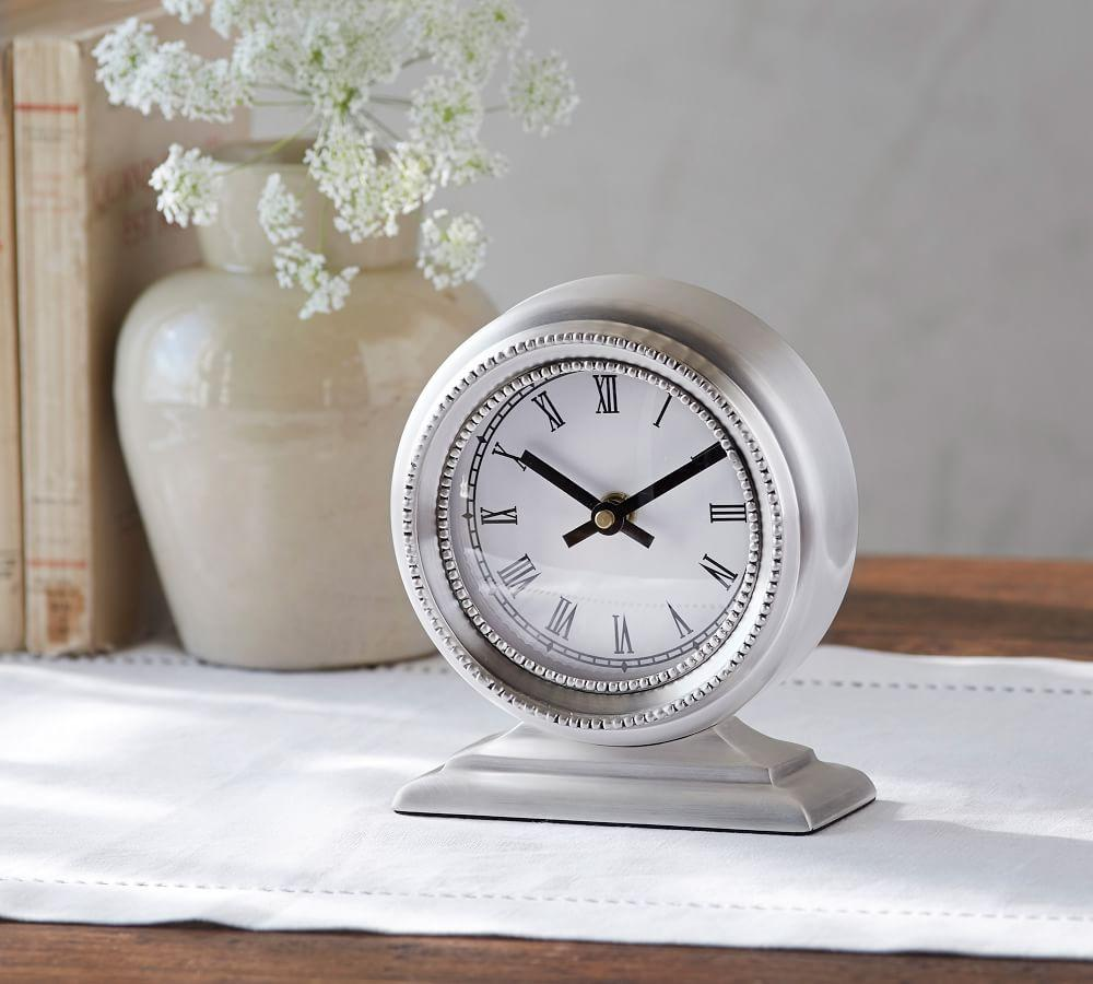 small mini shape table fullxfull product desk wood size house clock wooden silent il office oak