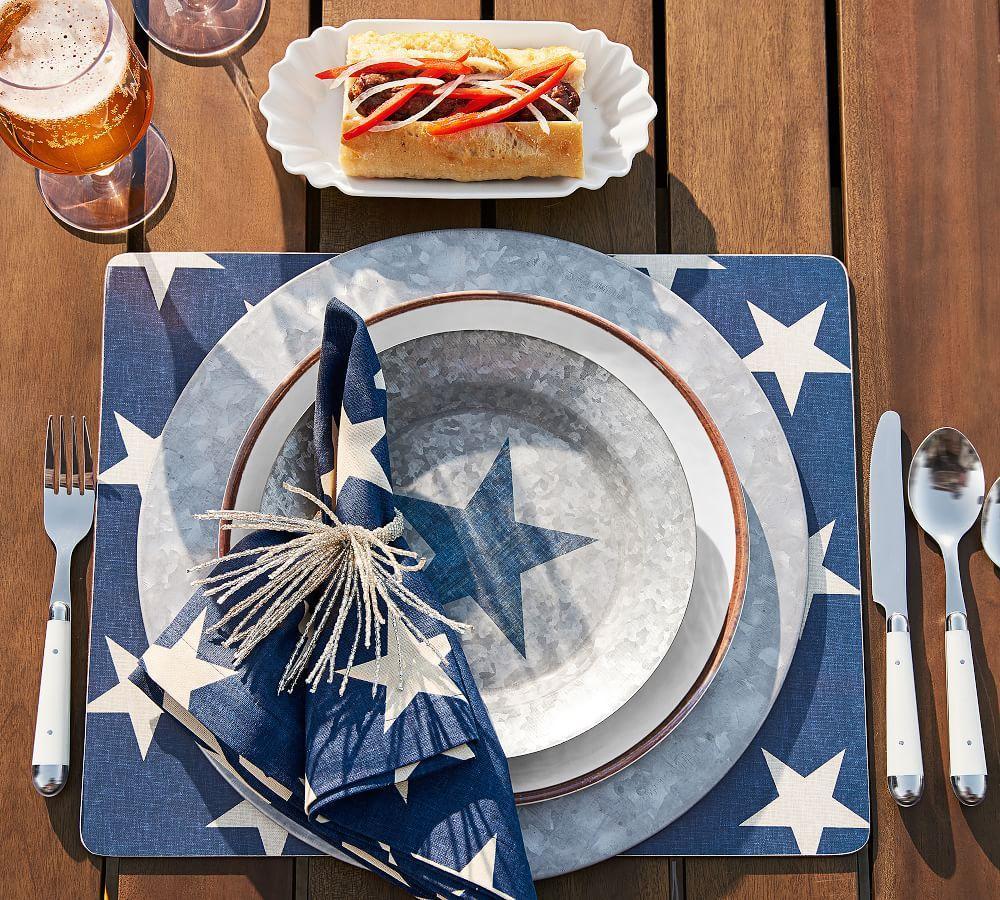 Swirl Melamine Dinner Plate - Stone