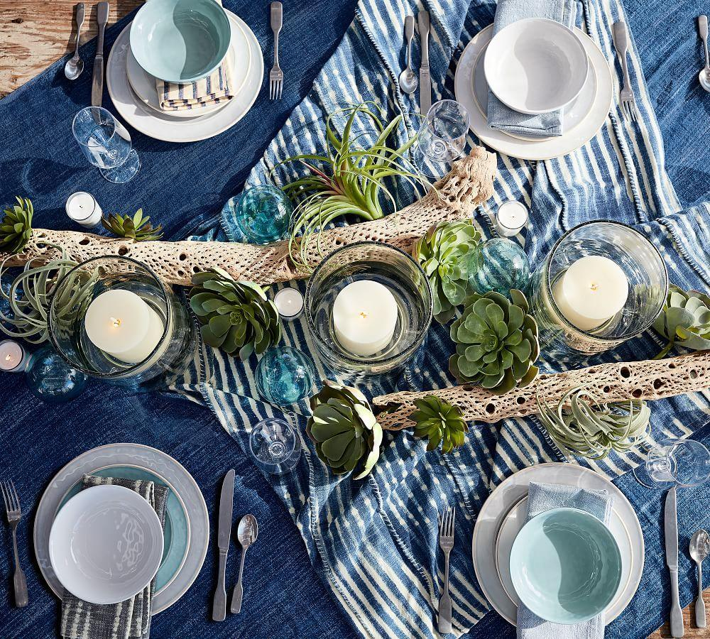 Cabana Melamine Salad Plate - Turquoise