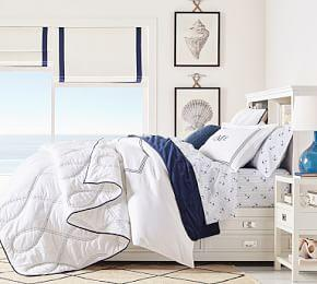 Nautical Rope Coverlet & Pillowcase
