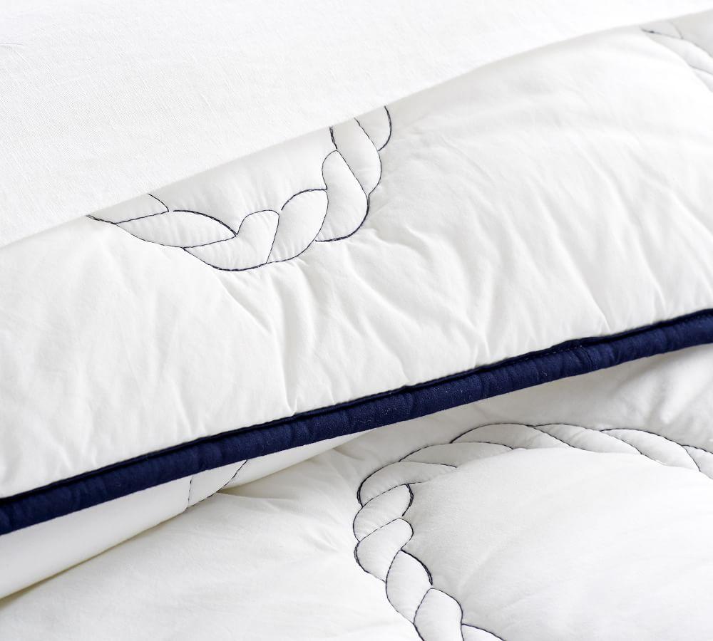 Nautical Rope Coverlet & Pillowcase
