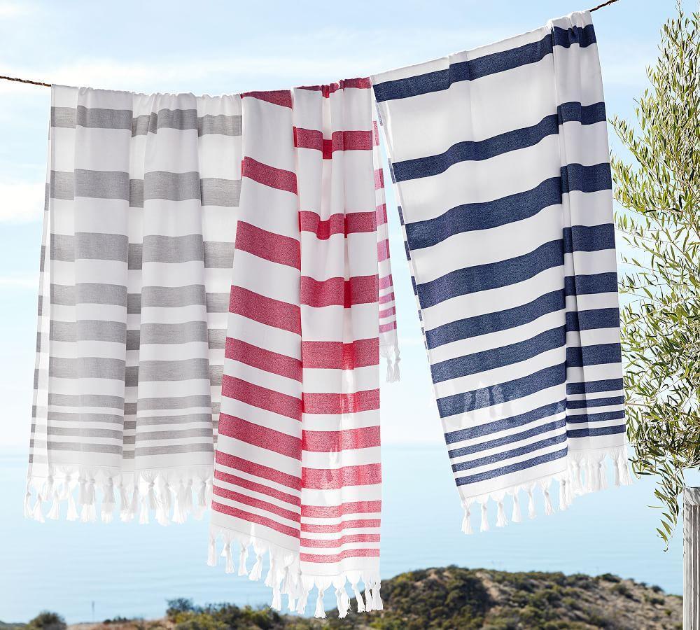 Turkish Striped Beach Towel