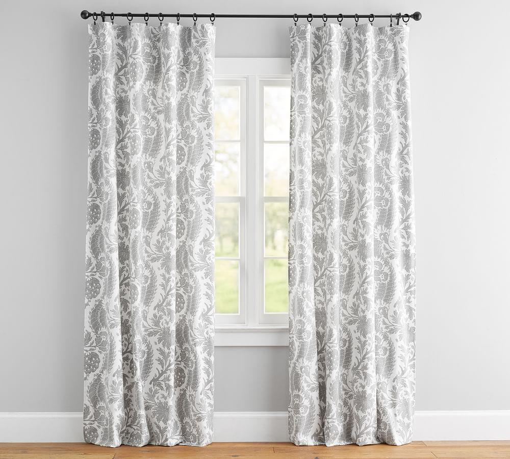 Maris Print Curtain - Set of 2