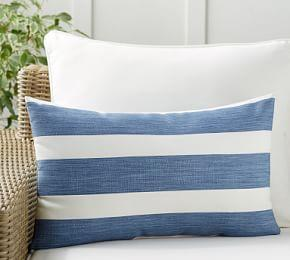 Noah Stripe Indoor/Outdoor Cushion