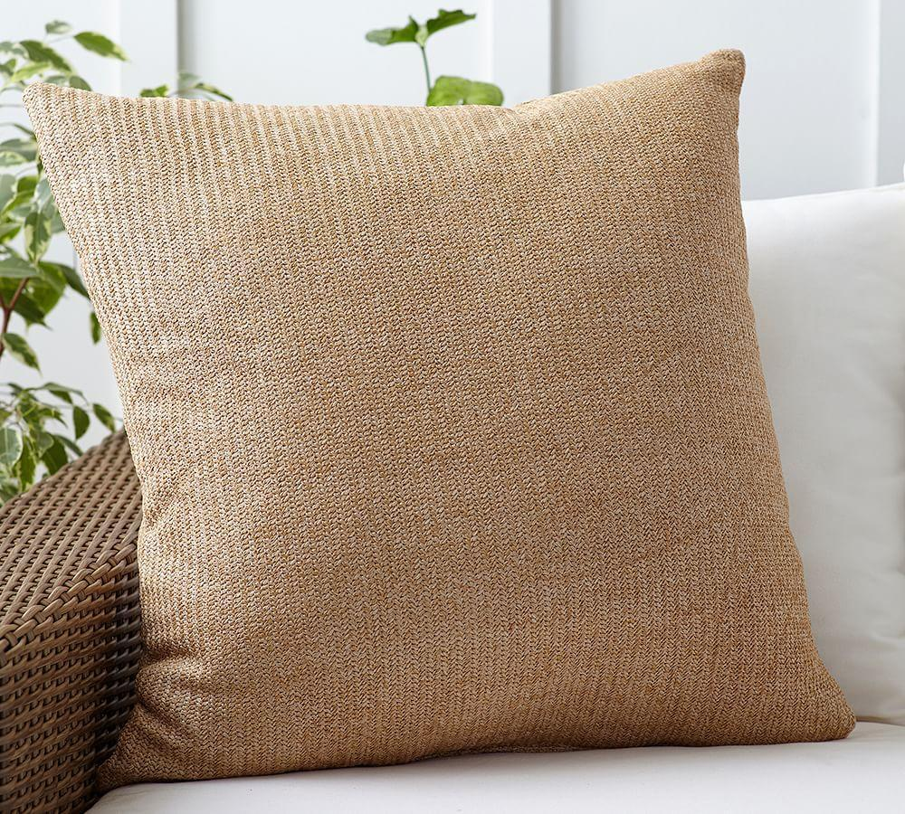 Faux Natural-Fibre Indoor/Outdoor Cushion