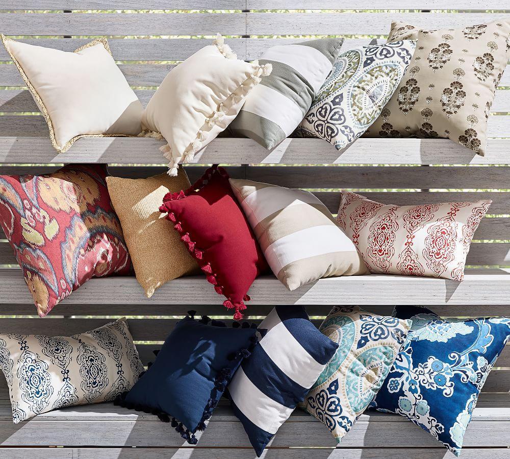 PB Classic Stripe Indoor/Outdoor Cushion