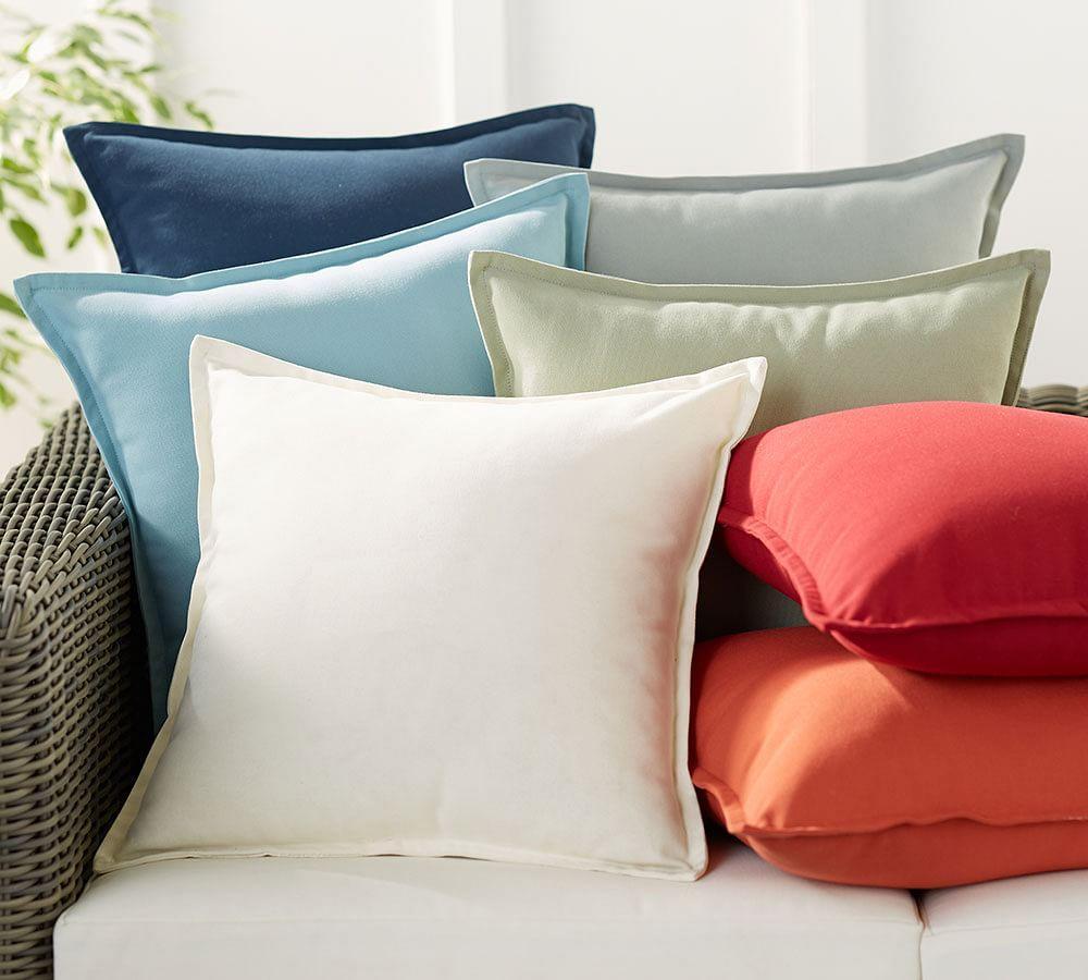 PB Classic Solid Indoor/Outdoor Cushion