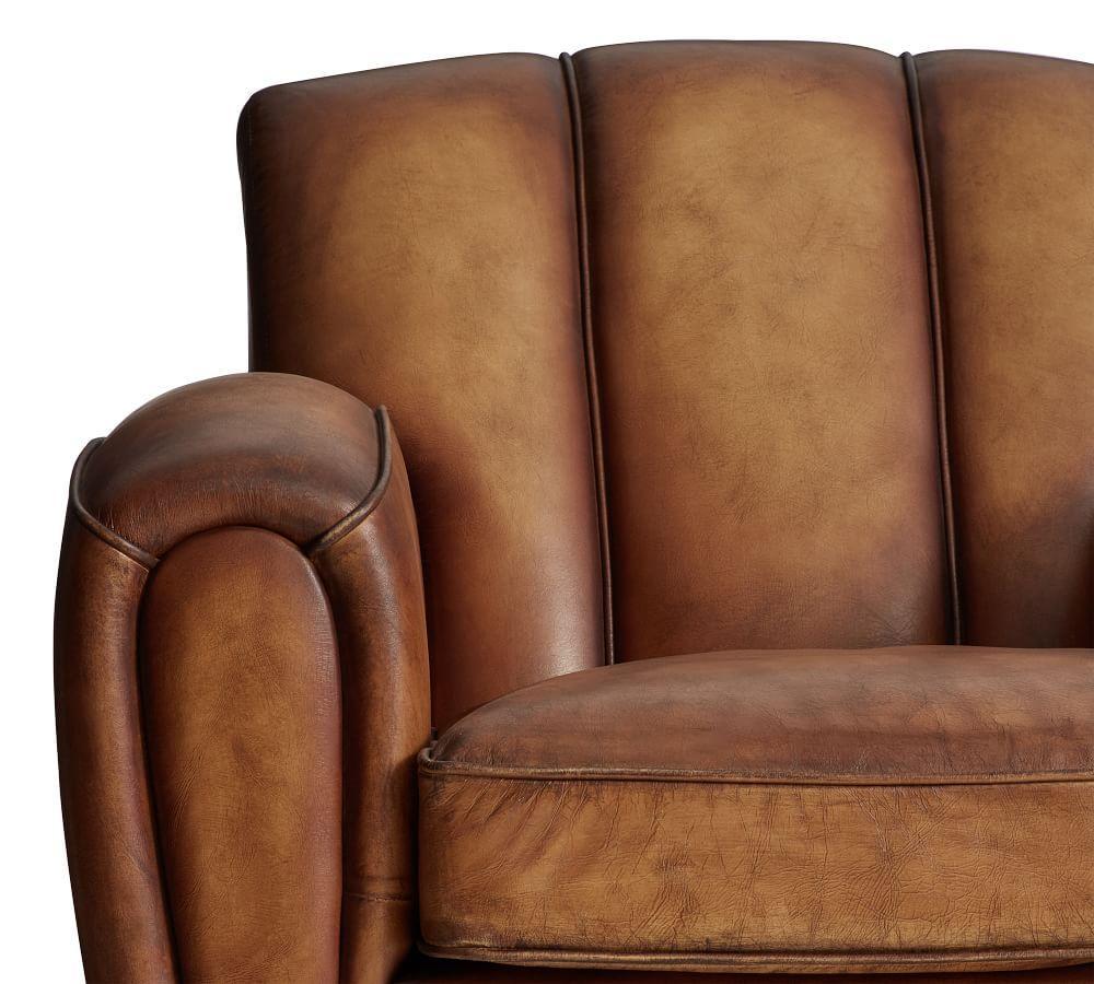 Elliot Leather Armchair