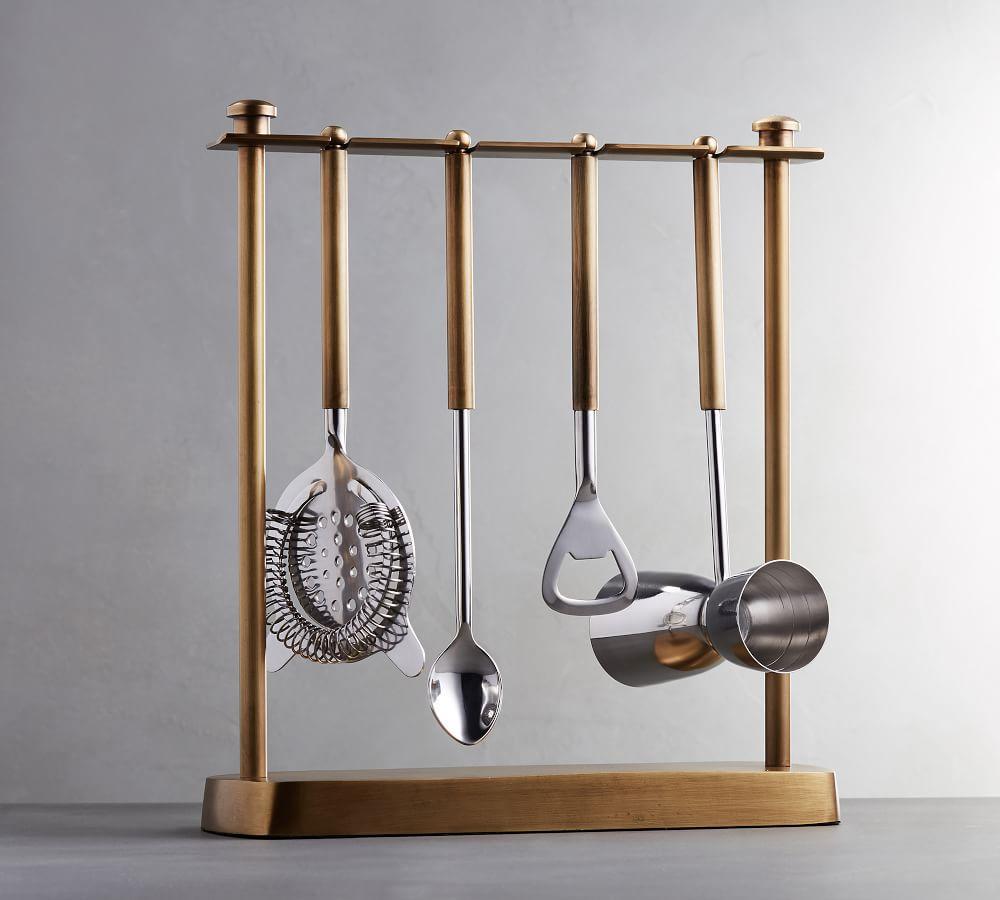 Bleecker Bar Hanging Tools, Set of 4