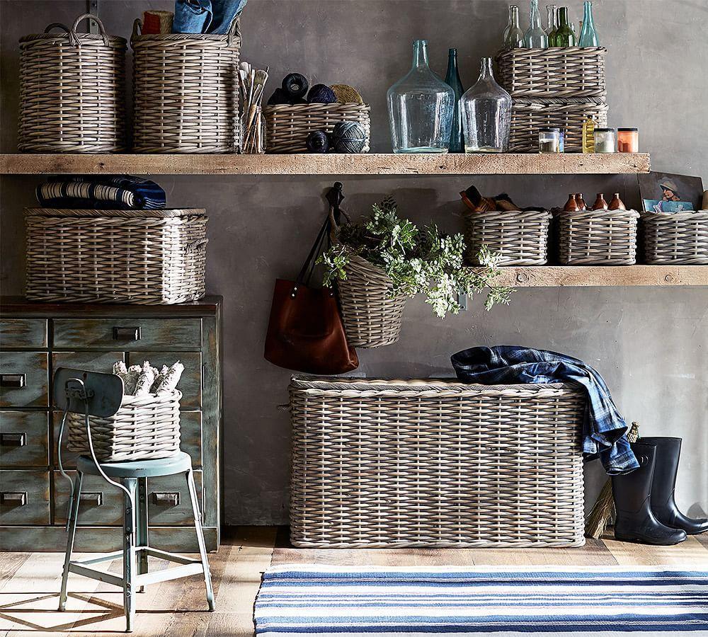 Aubrey Woven Lidded Baskets
