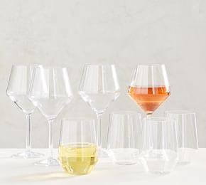 Happy Hour Acrylic Wine Glasses