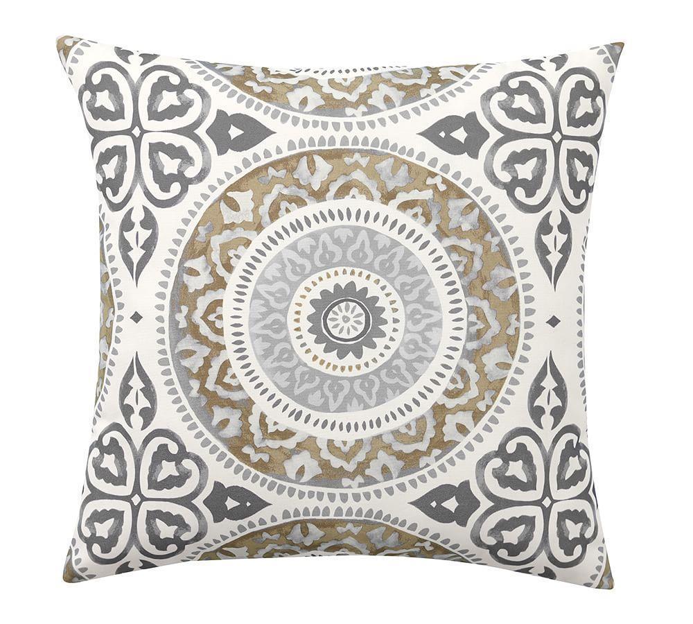 Leona Medallion Indoor Outdoor Cushion Pottery Barn Au