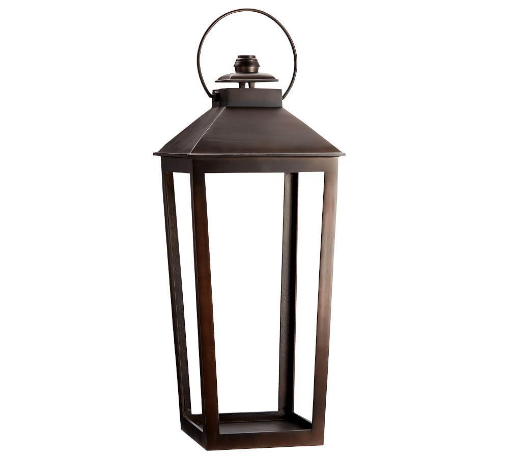 Smith Eclectic Lantern - Bronze