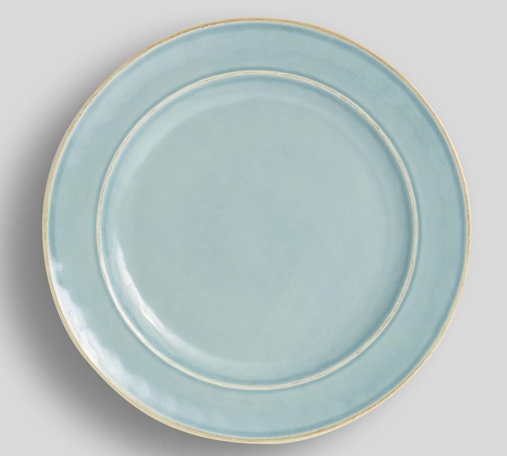 Cabana Melamine Dinner Plate - Turquoise