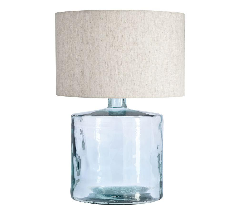 Mallorca Recycled Glass Table Lamp Base