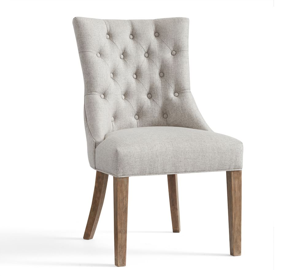 Hayes Tufted Dining Side Chair | Pottery Barn AU
