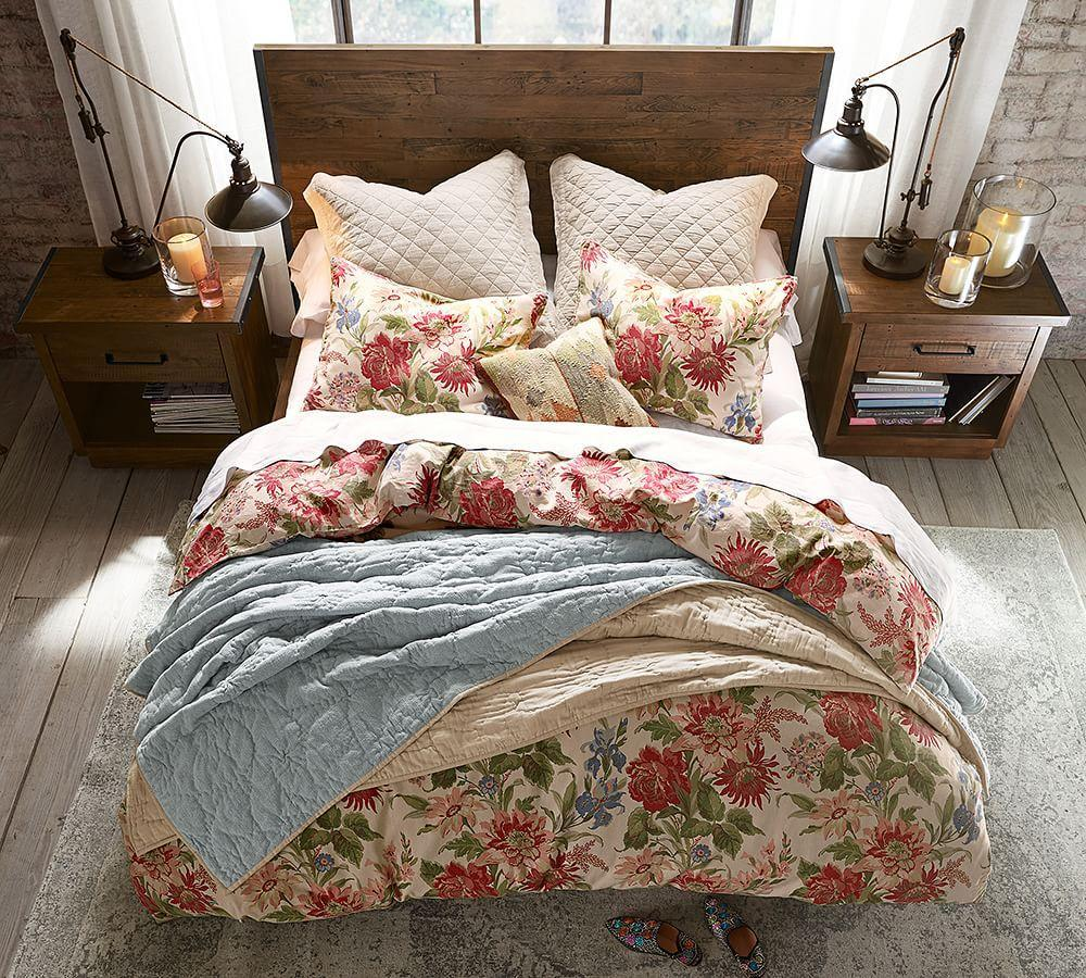 Marla Floral Print Quilt Cover Amp Pillowcases Pottery Barn Au
