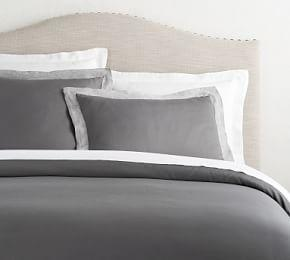 Tencel® Quilt Cover & Pillowcase - Flagstone