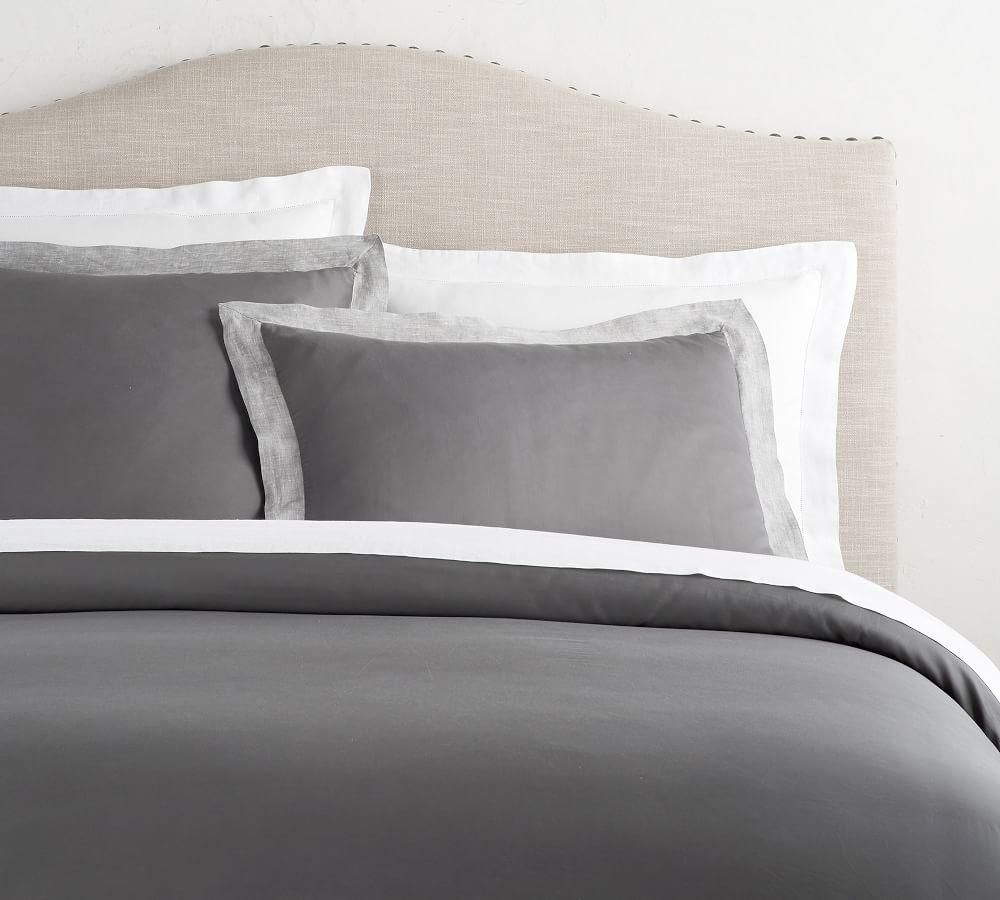 Tencel® Quilt Cover & Pillowcase - Flagstone