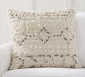 Moroccan Wedding Blanket Cushion Cover